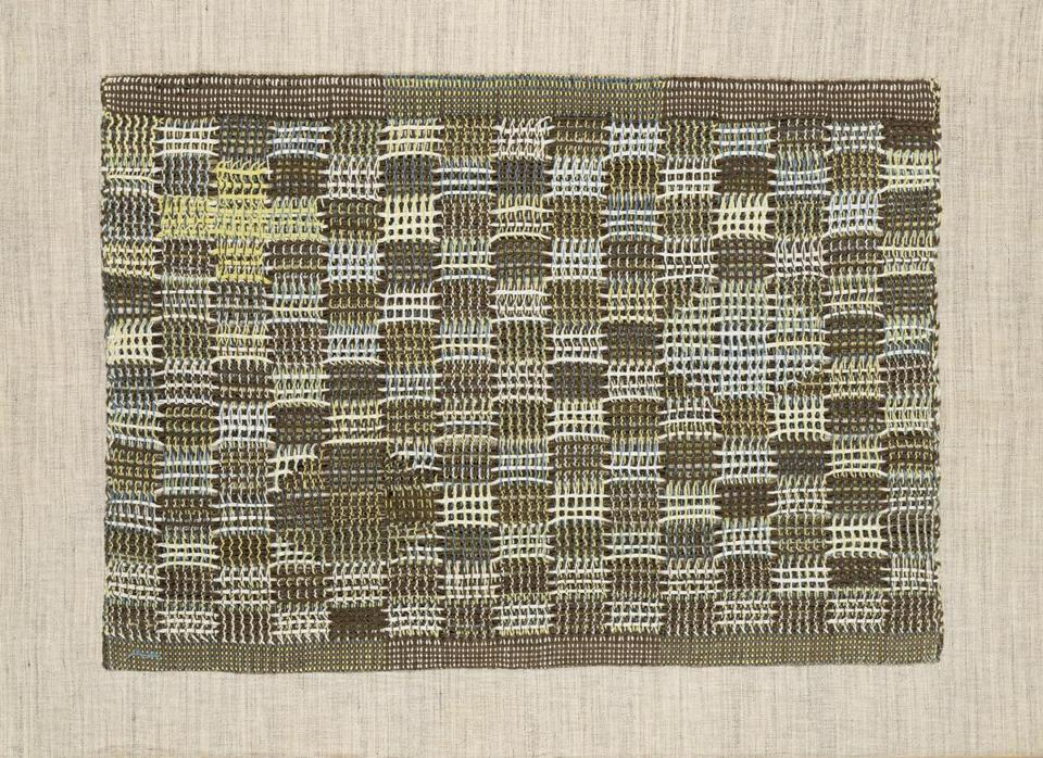 """In Orbit"" by  Anni Albers."